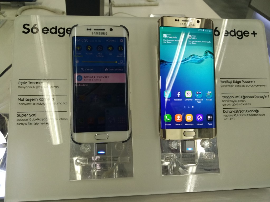 Forum Mall Istanbul Electronic Stores-25 Media Markt17 Galaxy S6 Edge Plus Comparison