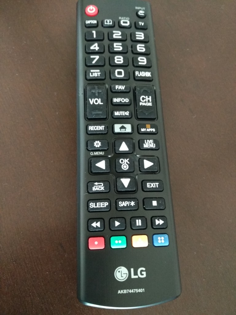 LG 4K Smart TV Remote-1