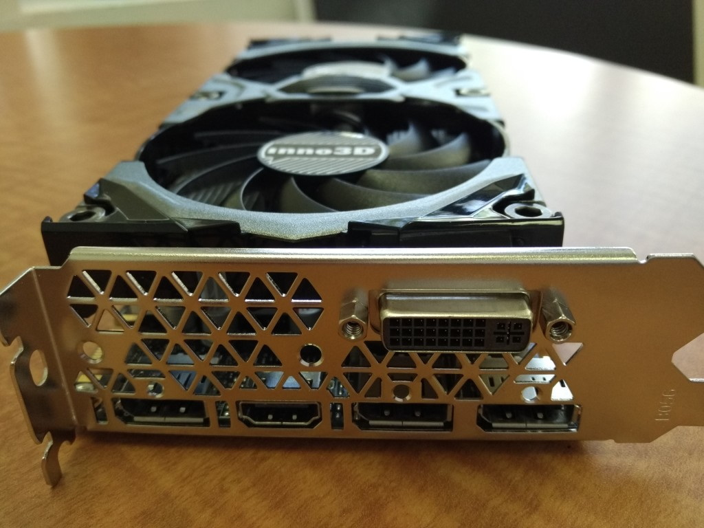 NVidia GEForce GTX 960 Macro Front Shot