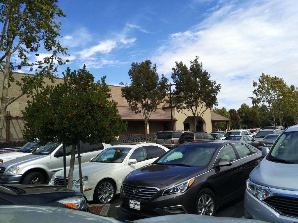 Parking Lot at Costco Danville California-1