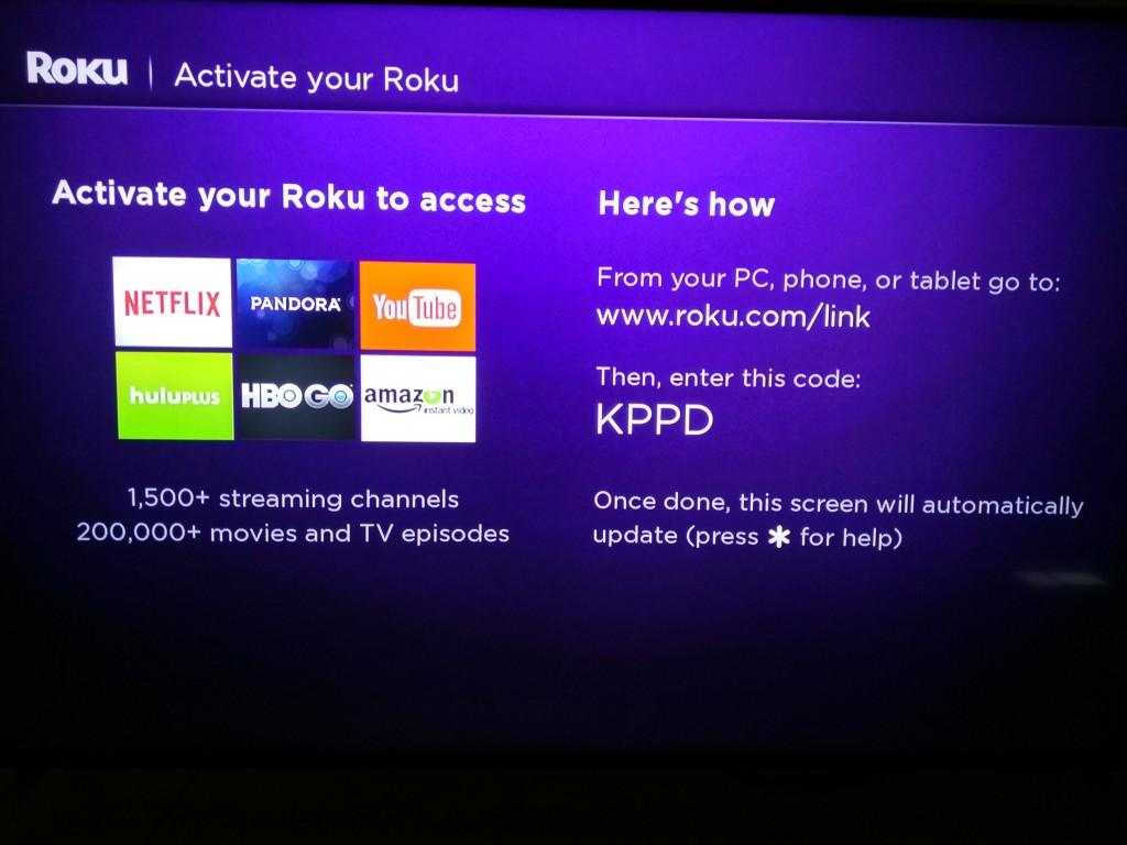 Roku 3 on Vizio M-Series 4K Ultra HD Smart TV Setup-11