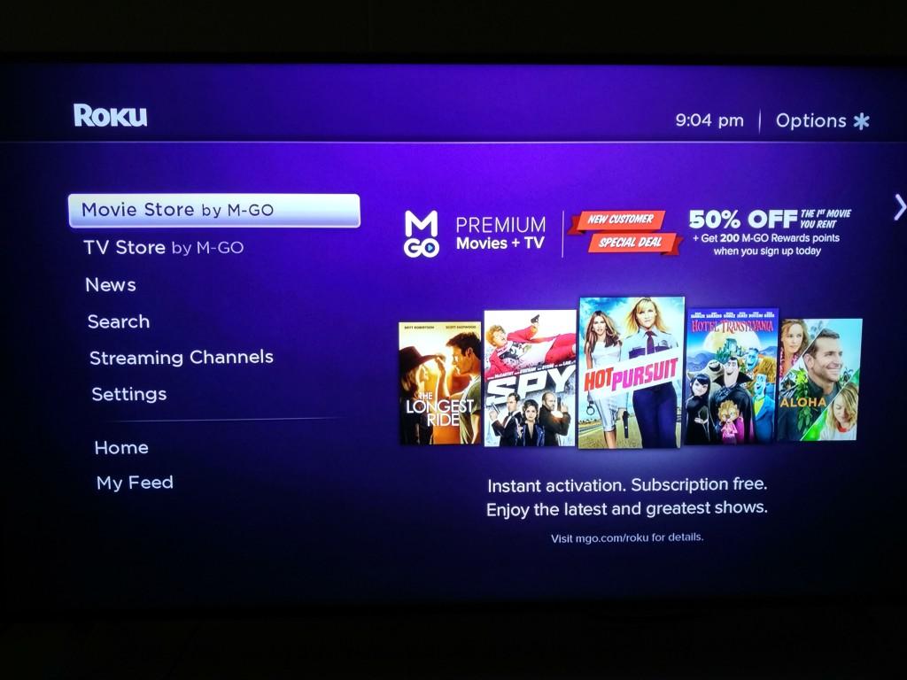 Roku 3 on Vizio M-Series 4K Ultra HD Smart TV Setup-18