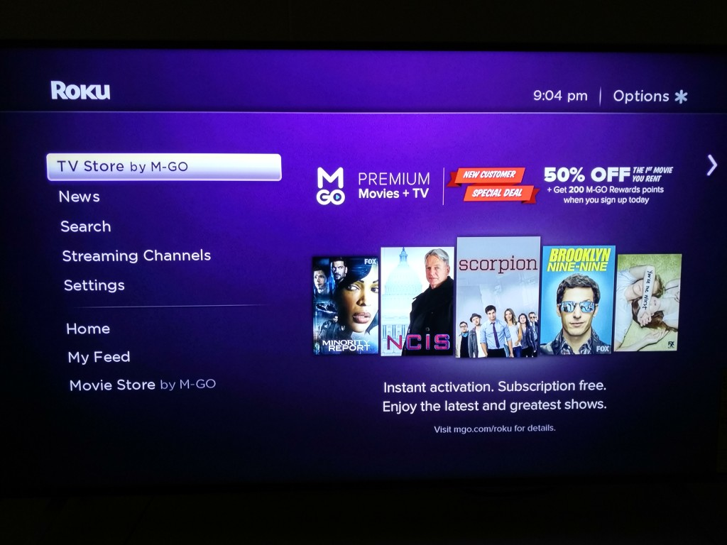 Roku 3 on Vizio M-Series 4K Ultra HD Smart TV Setup-19