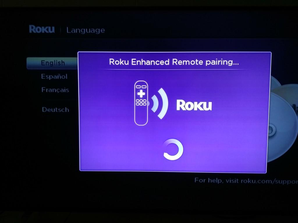 Roku 3 on Vizio M-Series 4K Ultra HD Smart TV Setup-2