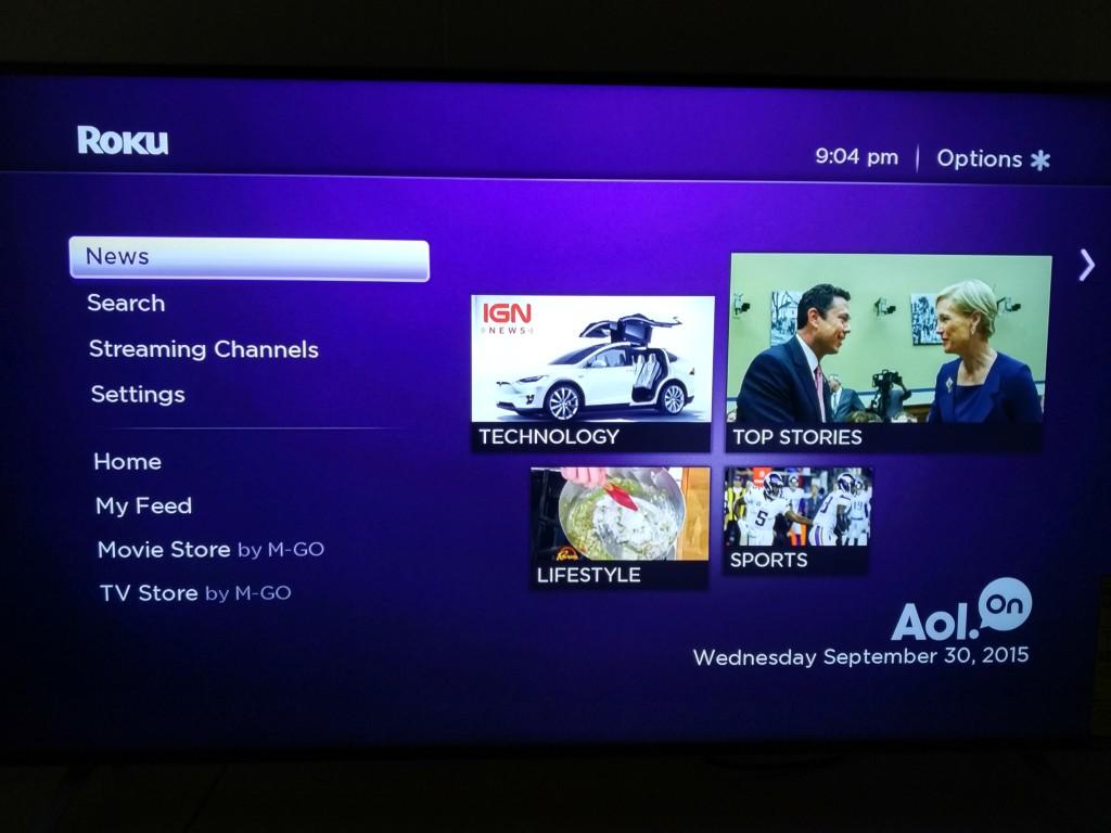 Roku 3 on Vizio M-Series 4K Ultra HD Smart TV Setup-20
