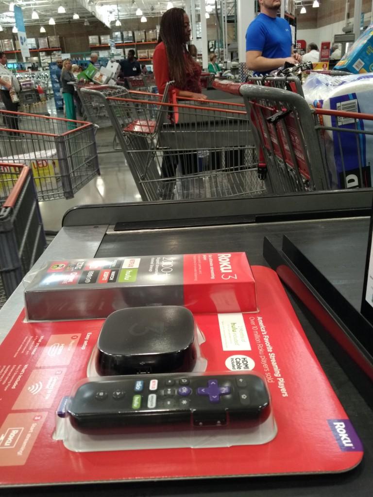 Roku 3 purchase at Costco Danville California-1