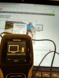Setting up TomTom Watch in Krakow Poland-13