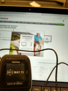 Setting up TomTom Watch in Krakow Poland-18