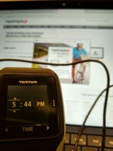 Setting up TomTom Watch in Krakow Poland-19