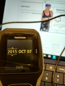 Setting up TomTom Watch in Krakow Poland-20