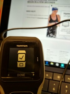 Setting up TomTom Watch in Krakow Poland-22