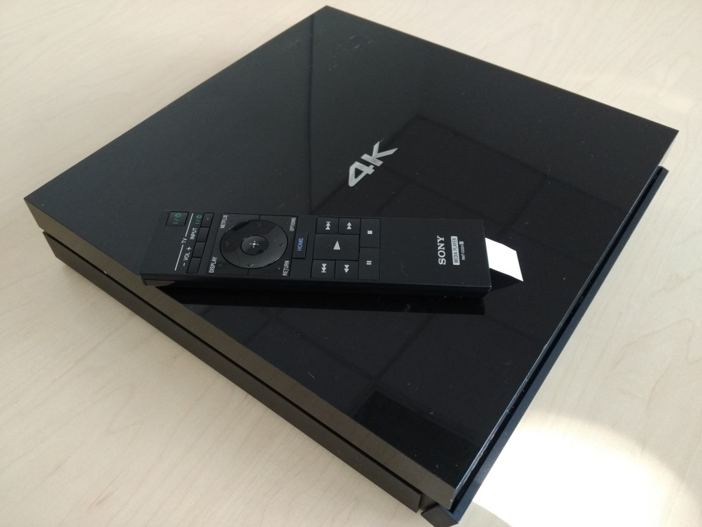 Sony 4K Ultra HD Media Player Corner Top Shot