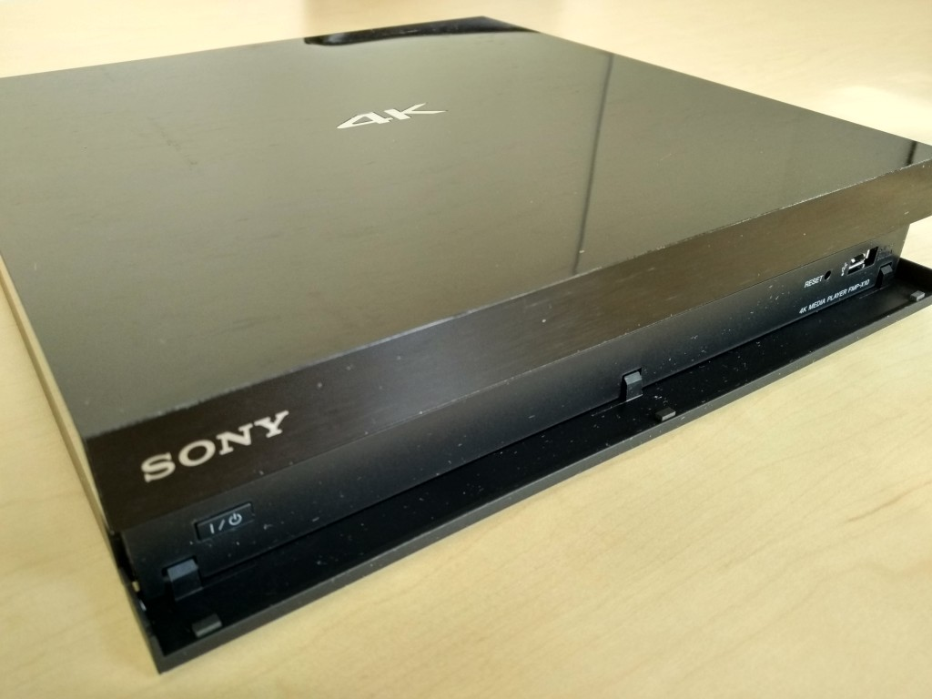 Sony 4K Ultra HD Media Player Front Corner Shot