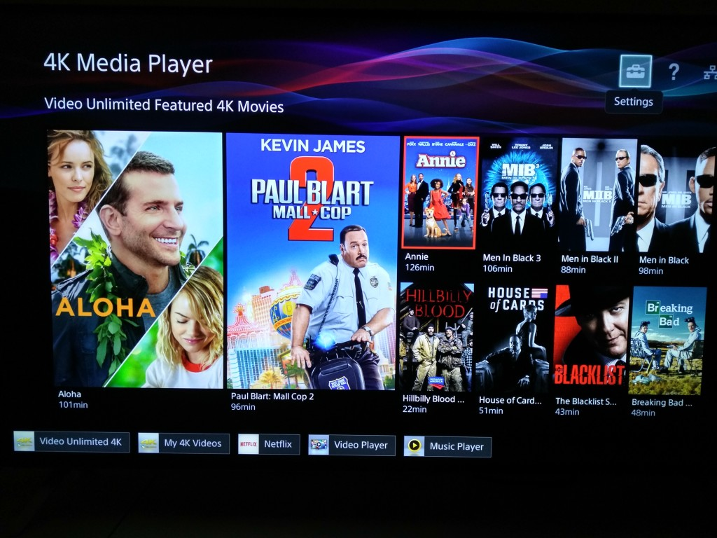 Sony 4K Ultra HD Media Player Setup-8