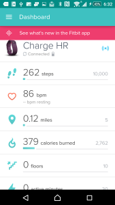 fitbit charge hr setup instructions