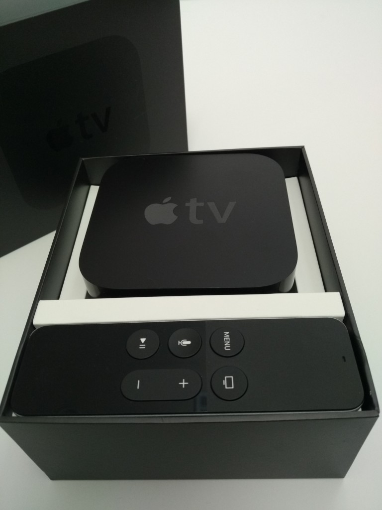 Apple TV (2015) Box Opened