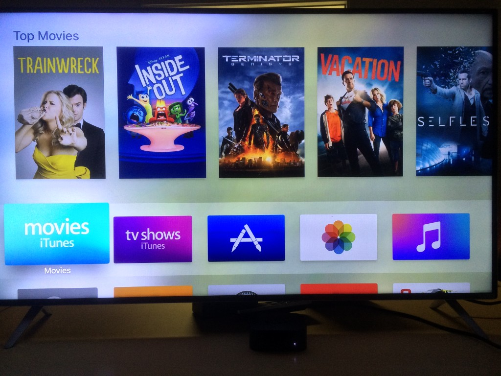 Apple TV 2015_home screen