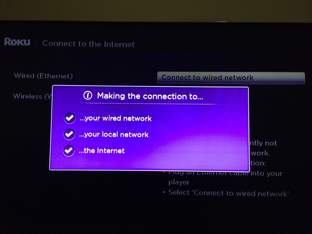roku connect to cable
