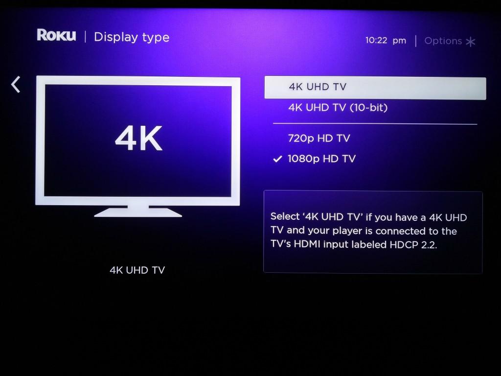 Roku 4 Setup in 4K-7