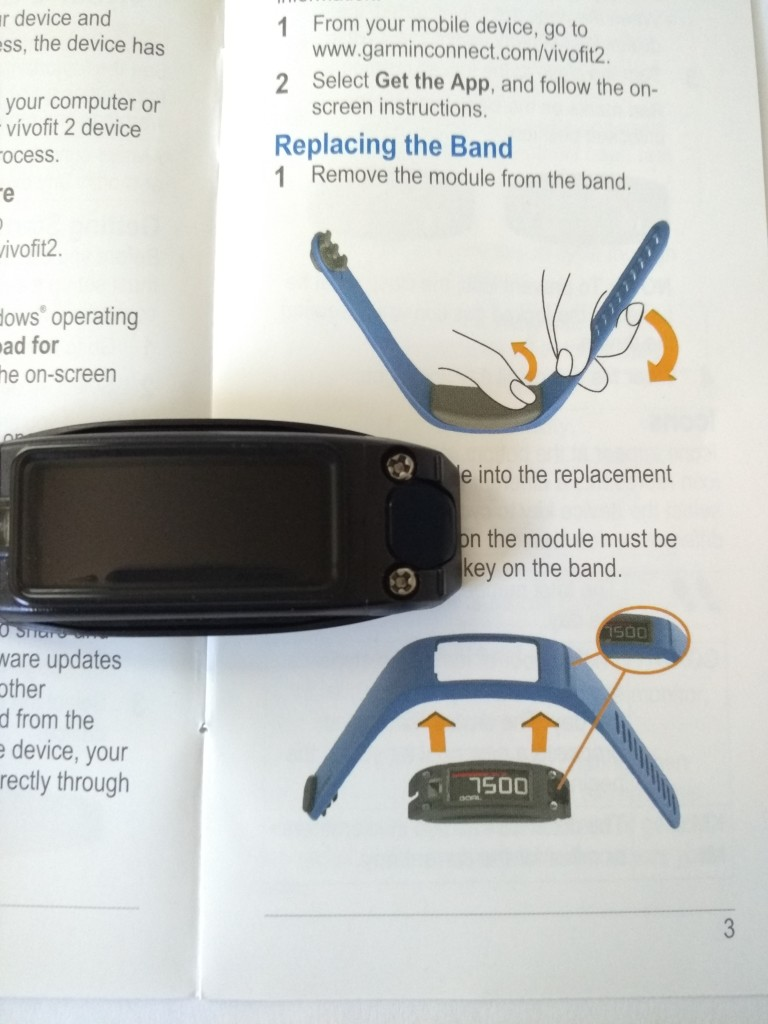 Garmin Vivofit 2 Unboxing Defective-39