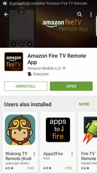 Setup Fire TV Remote App