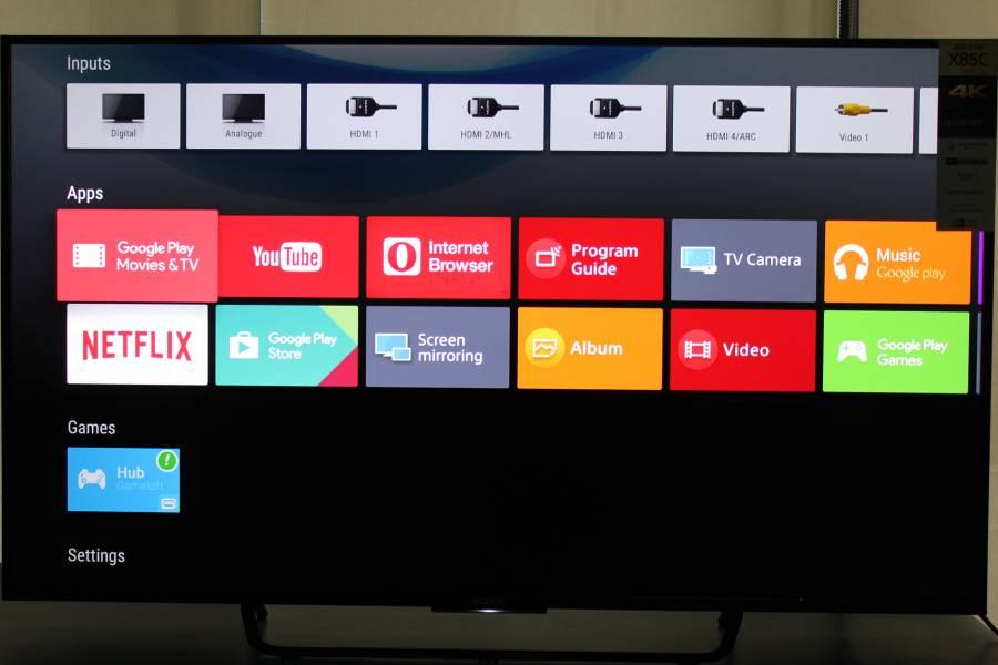 Netflix Vs Youtube In India On The Sony Bravia 4k Smart Tv