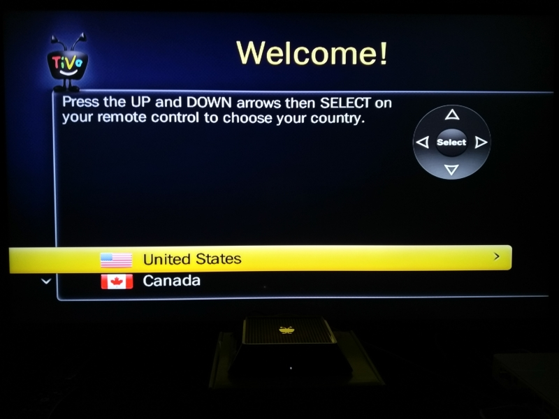 TiVo Mini/Mini VOX Setup