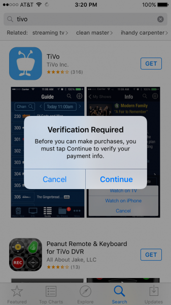 Iphone 6s By Apple And Bolt By Tivo Compatibility Gtrusted