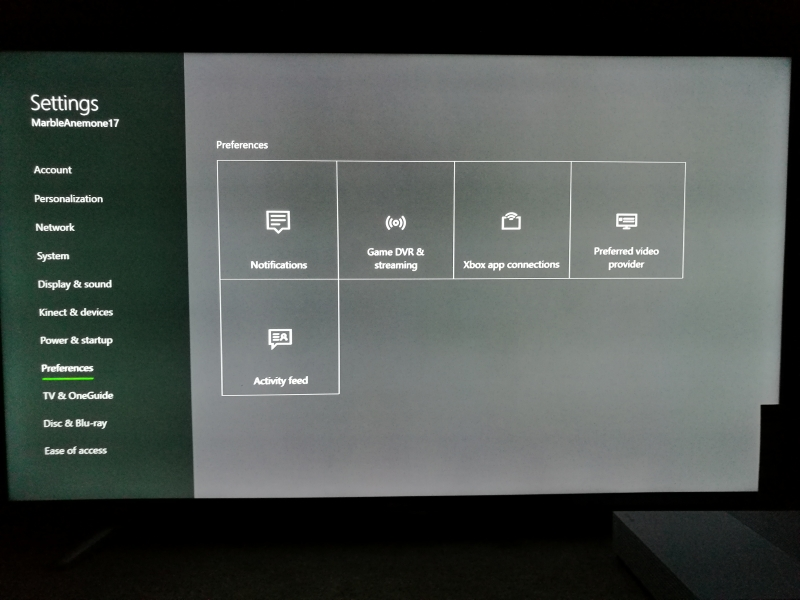 how to change sound output on xbox one
