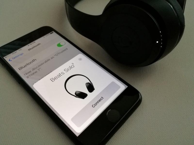 Solo3 Wireless By Beats And IPhone 7 Apple Compatibility