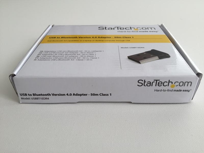 50m Class 1 EDR Wireless Dongle 165ft StarTech Mini USB Bluetooth 4.0 Adapter