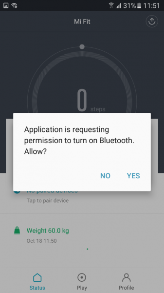 how to turn off mi band 2
