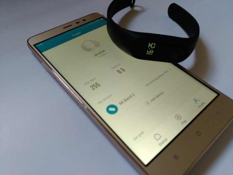 How To Set Up The Mi Band 2 Your Xiaomi Redmi Note 3
