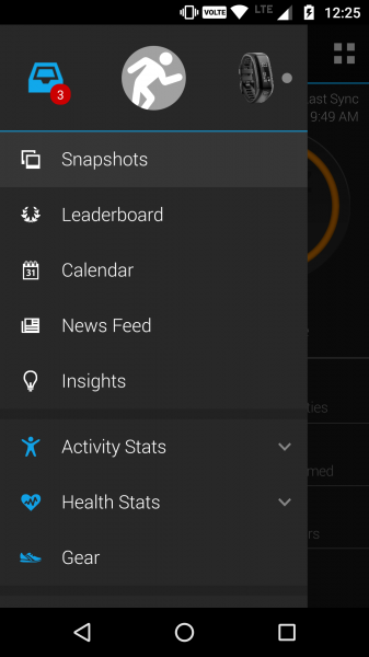 how to set alarm on garmin connect app