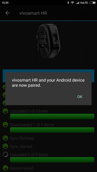 How to Set Up the Garmin vivosmart HR on Your Xiaomi Redmi