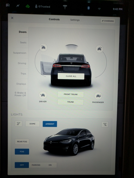 How To Set Up The Tesla Model X Which Lacks Advanced