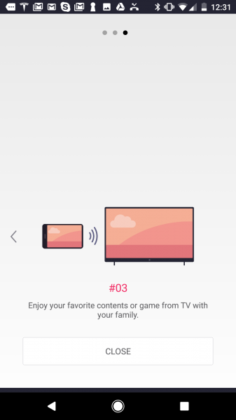 How to use lg tv plus app