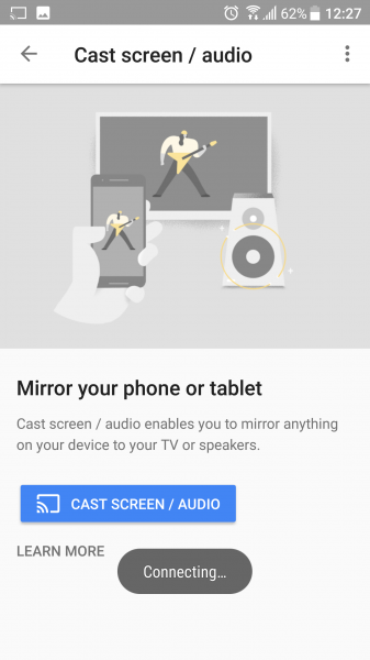 how to connect ipad to tv wirelessly with chromecast