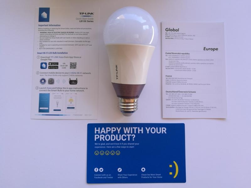 Smart Wi-Fi LED Bulb