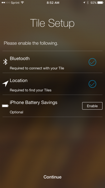 How To Set Up The Tile Mate On An Iphone Like The Iphone 6